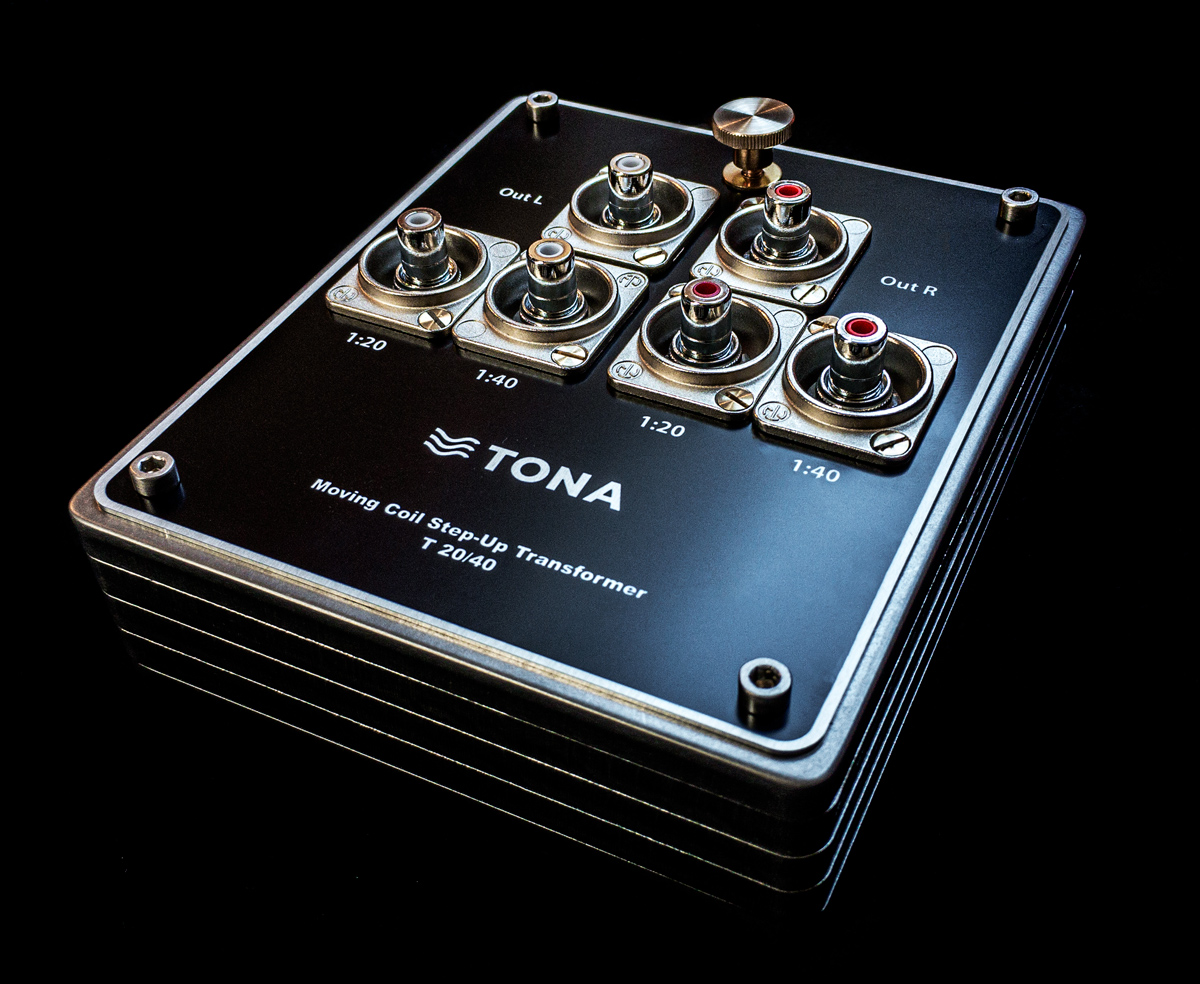 tona 20-40 moving Coil step-up